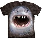 Wicked Nasty Shark Face Youth & Adult T-shirt