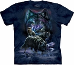 Wolf Pack Adult T-shirt