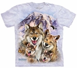 Wolf Selfie Youth T-shirt