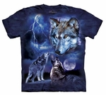 Wolves of the Storm Adult T-shirt