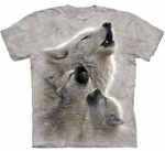Wolves Singing Lessons Youth T-shirt