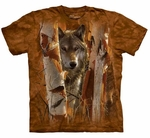 Wolves The Guardian Adult T-shirt