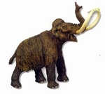 Safari Limited Woolly Mammoth Toy Mammal Figure Replica