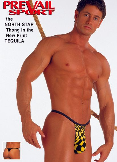 NORTH STAR Thong in the New Tequila Print