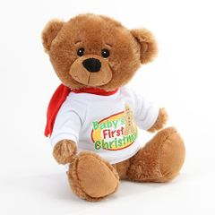 """10"""" Baby's First Christmas Bear"""