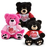 "10"" Hearts and Dots Bear"