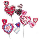 14'' Valentine's Day Air-Filled Shape Balloons