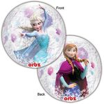 "16"" Frozen Clear Orbz Balloon"
