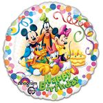 "17"" Mickey & Friends Party Helium Savers Balloon"