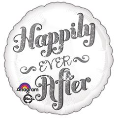 """17"""" Happily Ever After Shimmer Helium Savers Balloon"""