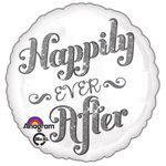 "17"" Happily Ever After Shimmer Helium Savers Balloon"