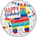 "17"" Pinata Party Helium Saver Balloon"