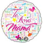 "17"" Te Amo Mama Helium Savers Balloon"