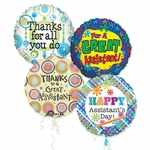 "18"" Administrative Professional's Day Balloon Assortment with Ribbon"