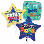 "18"" Boss's Day Balloon Assortment with Ribbon"