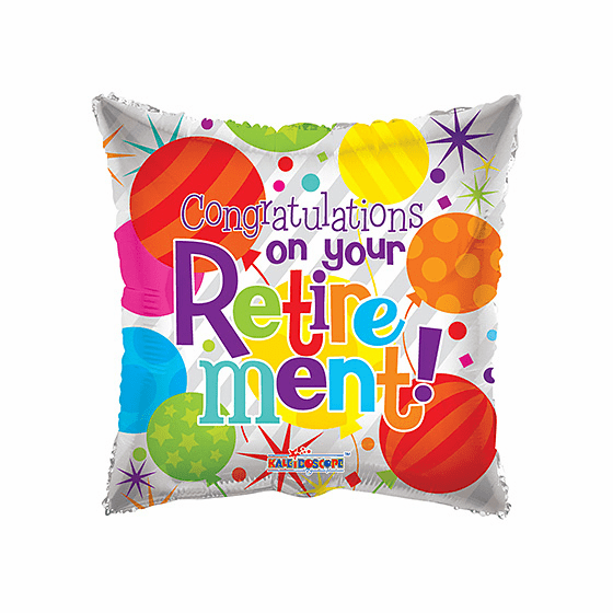 """18"""" Congratulations on Your Retirement Balloon"""