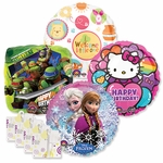 "18"" Licensed Character Balloon Assortment with Weight"