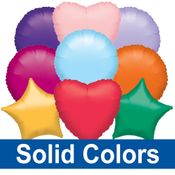 """18""""/19"""" Solid Color Balloons"""