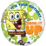 "17"" SpongeBob Birthday Helium Savers Balloon"