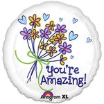 "17"" You're Amazing Bouquet Helium Savers Balloon"