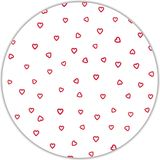"""22"""" Red Open Heart Cellophane Sheets"""