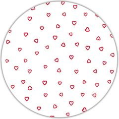 "22"" Red Open Heart Cellophane Sheets"