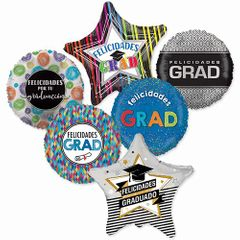 "18"" Hispanic Graduation Assortment With Weights"
