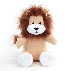 "12"" Julian Lion Forward Facing Plush"