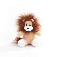"6"" Logan Lion Forward Facing Plush"