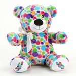 "12"" Dot Plush Bear"