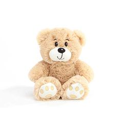 "6"" Ashton Tan Plush Bear"