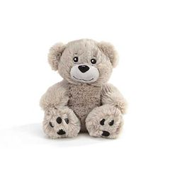 "6"" Lane Gray Plush Bear"