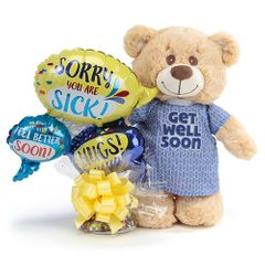 Get Well Wishes Bear Gift