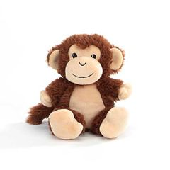 "6"" Moriah Monkey Forward Facing Plush"