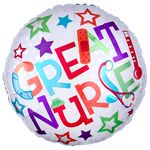 "17"" Great Nurse Balloon Helium Saver Balloon"