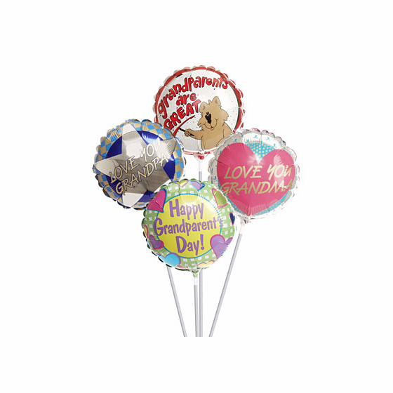 """9"""" Grandparents Day Air-Filled Balloons"""