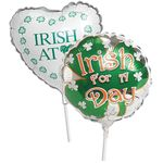 "9"" St. Patrick's Day Air-Filled Balloons"