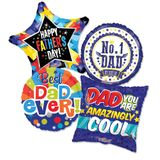 """Assorted Father's Day 18"""" Balloons"""