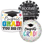 Assorted Graduation Jumbo Balloons