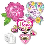 Mom's Day  Shape Asst  W/Ribbon & Weight