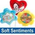 Soft Sentiments Plush Balloons