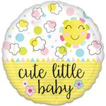 Standard Cute Little Baby Sunshine Helium Saver Balloon