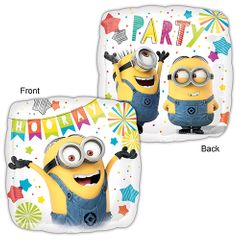 Standard Minions Party Helium Saver Balloon