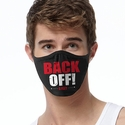 Back Off! Design 2-Ply Face Mask in 3 Color Options