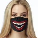 Big Joker Smile Design 2-Ply Face Masks in Choice of 3 Colors
