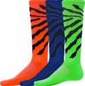 Colorful Wildcat Stripe Knee High Socks - 6 Color Options