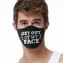Get Out Of My Face Design 2-Ply Face Masks in Choice of 2 Colors