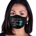 Hang With My Dog Design 2-Ply Face Masks in Choice of 3 Colors