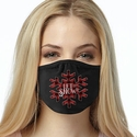 Let It Snow Design 2-Ply Face Mask in 3 Color Options