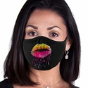 Lips Like Sugar Design 2-Ply Face Masks in Choice of 3 Colors